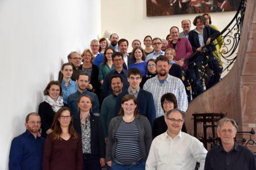 Teilnehmer des vierten Eisenzeit-Forums Rhein-Main. Foto: L. Görze, Landesamt für Denkmalpflege Hessen